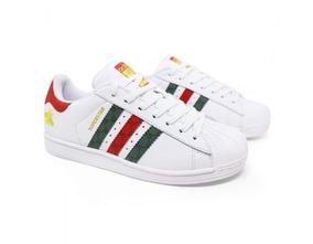 c75694b3cd1 Tenis Adidas Superstar Colorido - Adidas no Mercado Livre Brasil