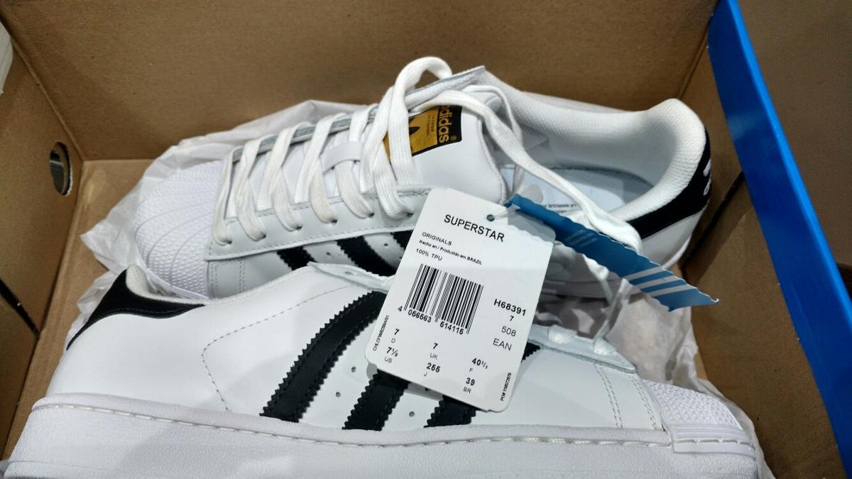 658c6ac163c tênis adidas superstar foundation original promoção branco. Carregando zoom.
