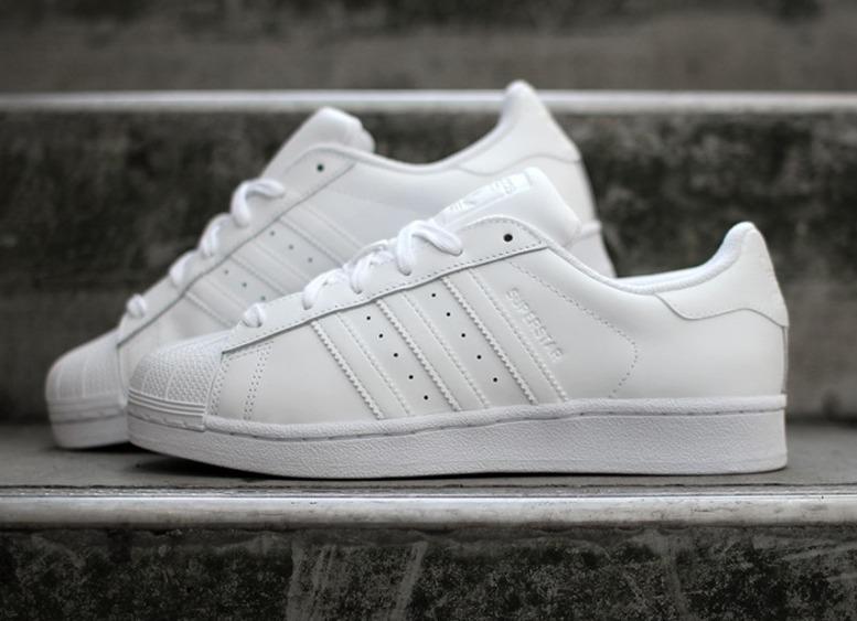 6213a17da53 Tênis adidas Superstar Foundation Preto Total Original - R  300