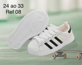 Entrega Em Horas Superstar 24 24ao33 Infantil Tênis Adidas 354qAjRL