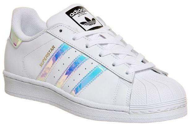 97bd18c1e00 Tênis adidas Superstar Originals Branco Holográfico Unissex - R  217 ...