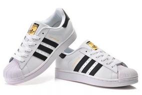 98a7be3a7da Tênis adidas Superstar Branco preto. São Paulo · Tênis Mulheres homens  Superstar Casual 100% Original Couro