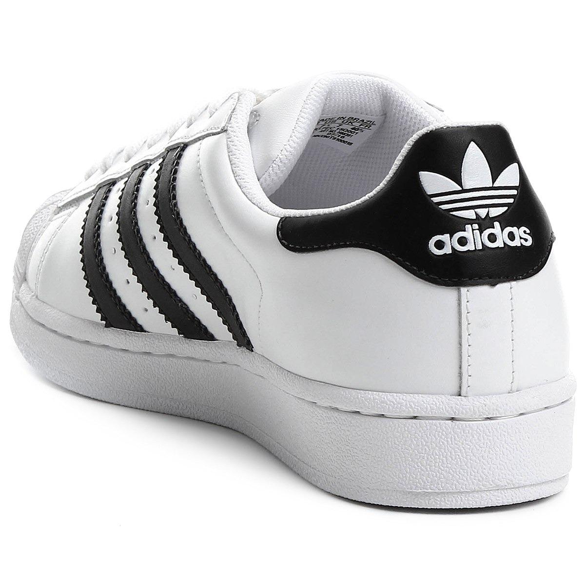... 217d794ff51 Tênis adidas Superstar Originals Feminino Masculino - R  200 4349c572759a1