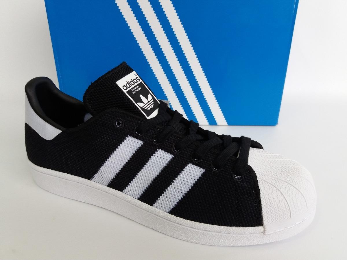 2b001f1f813 tênis adidas superstar preto branco original. Carregando zoom.