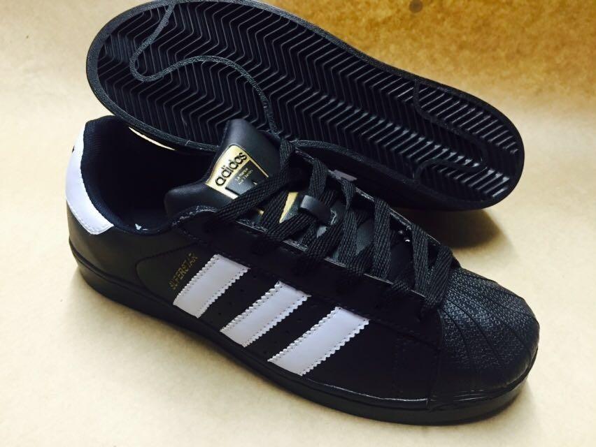 1d0e90a81c ... spain tênis adidas superstar preto e branco mega oferta confira. carregando  zoom. a02ae 83c27