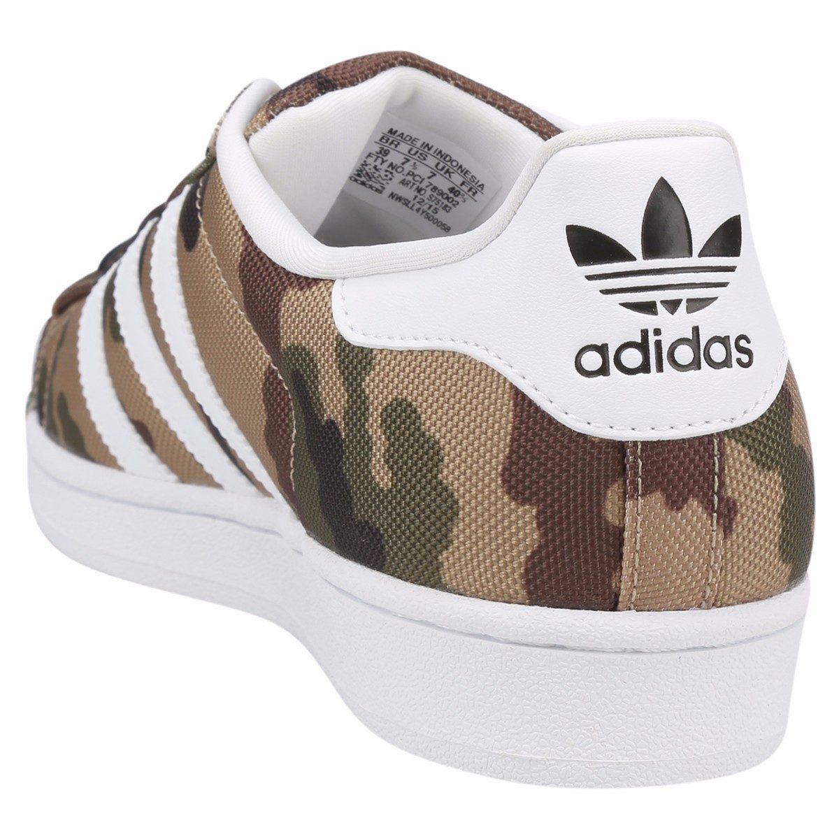 3ef4ce9fdf5 tênis adidas superstar shel toe pack camo camuflado original. Carregando  zoom.