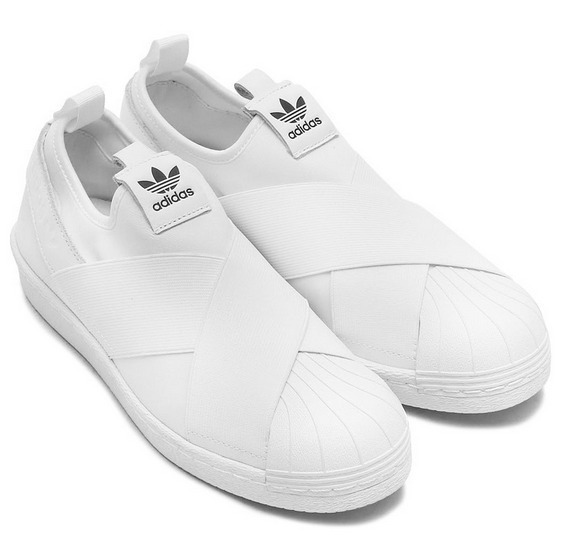 Tênis adidas Superstar Slip On Branco Promoção Feminino Masc - R ... 1a895f255f06c