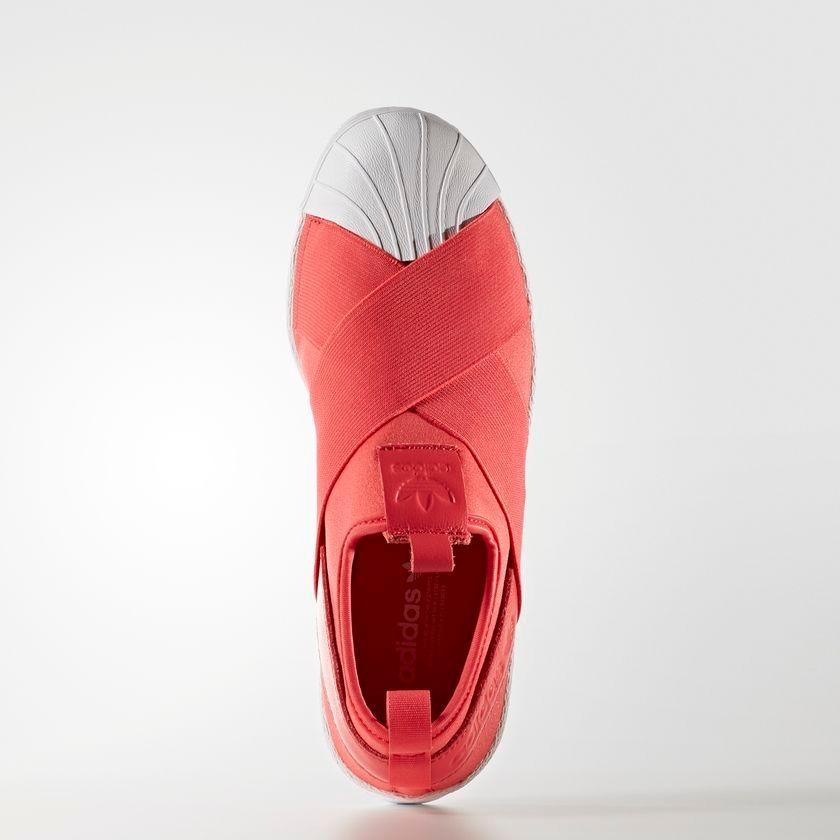 86e91e7199d tênis adidas superstar slip-on feminino original rosa salmão. Carregando  zoom.
