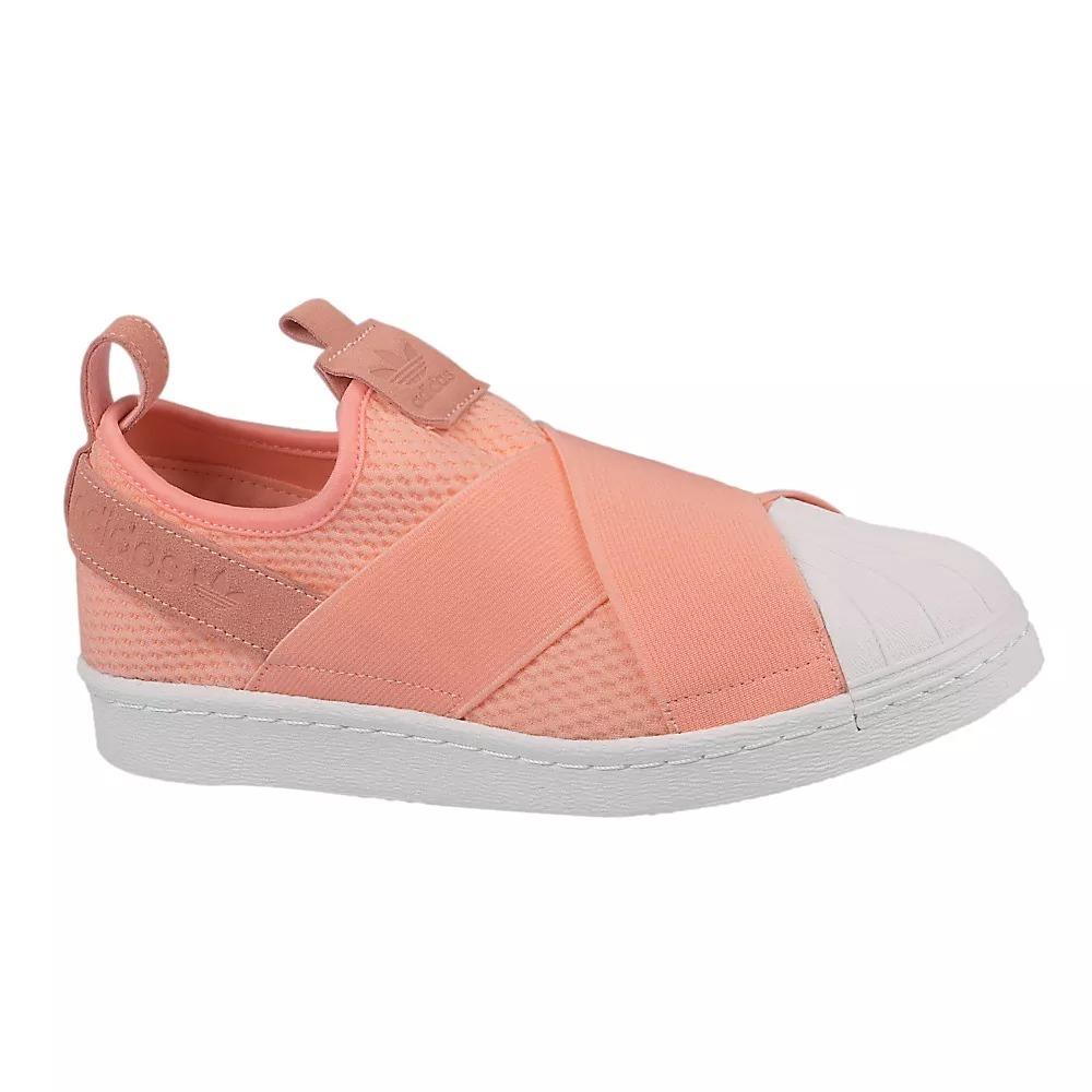 bd007b0ada tênis adidas superstar slip on feminino rosa original. Carregando zoom.