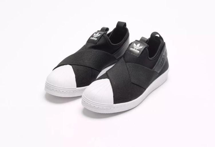 Tênis adidas Superstar Slip On Preto 100% Original - R  299 21a7586deadec