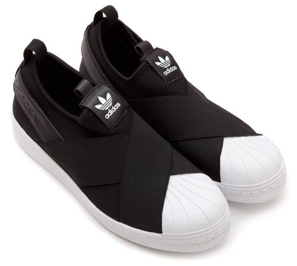 adidas slip on preto