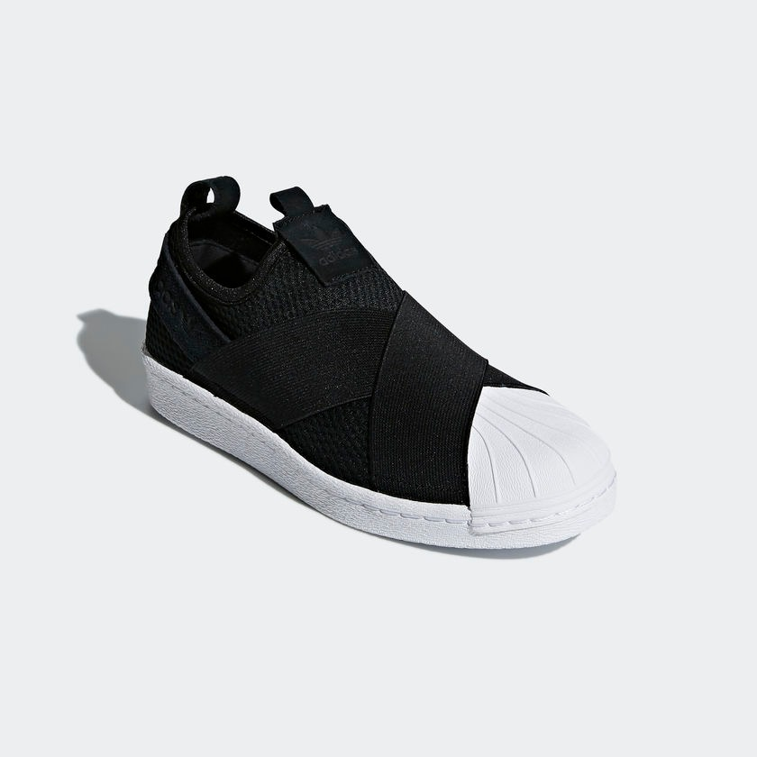95090db8a tênis adidas superstar slip on w preto original. Carregando zoom.