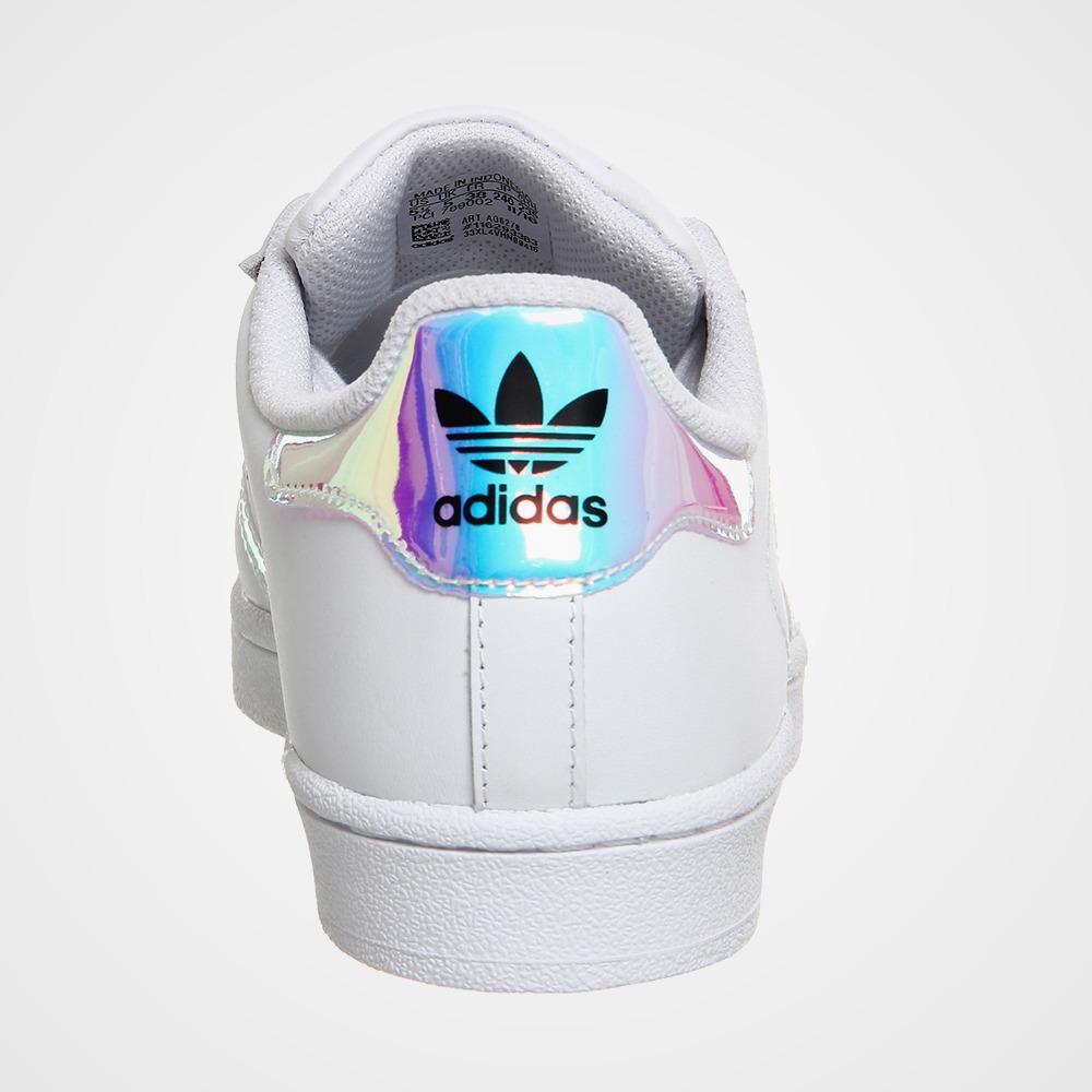 fb975284c06 tênis adidas superstar white metallic color + frete grátis! Carregando zoom.