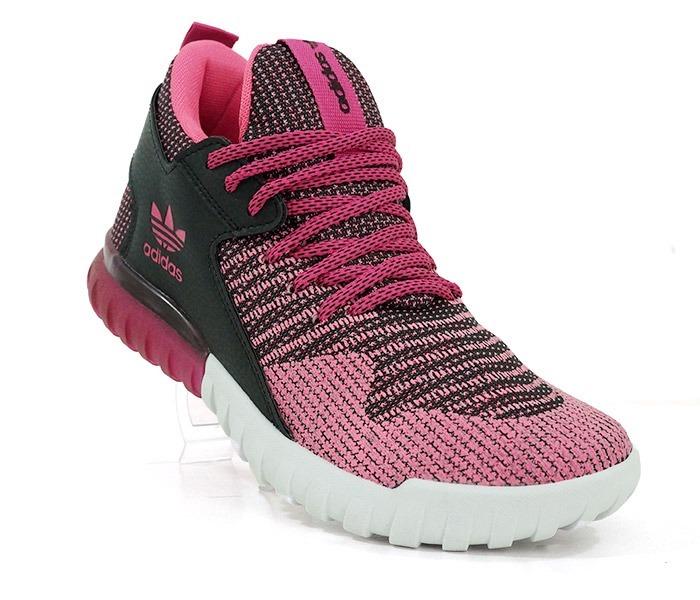 designer fashion fc5e4 720f7 ... low cost tênis adidas tubular x primeknit rosa e preto 3cd82 b4d20