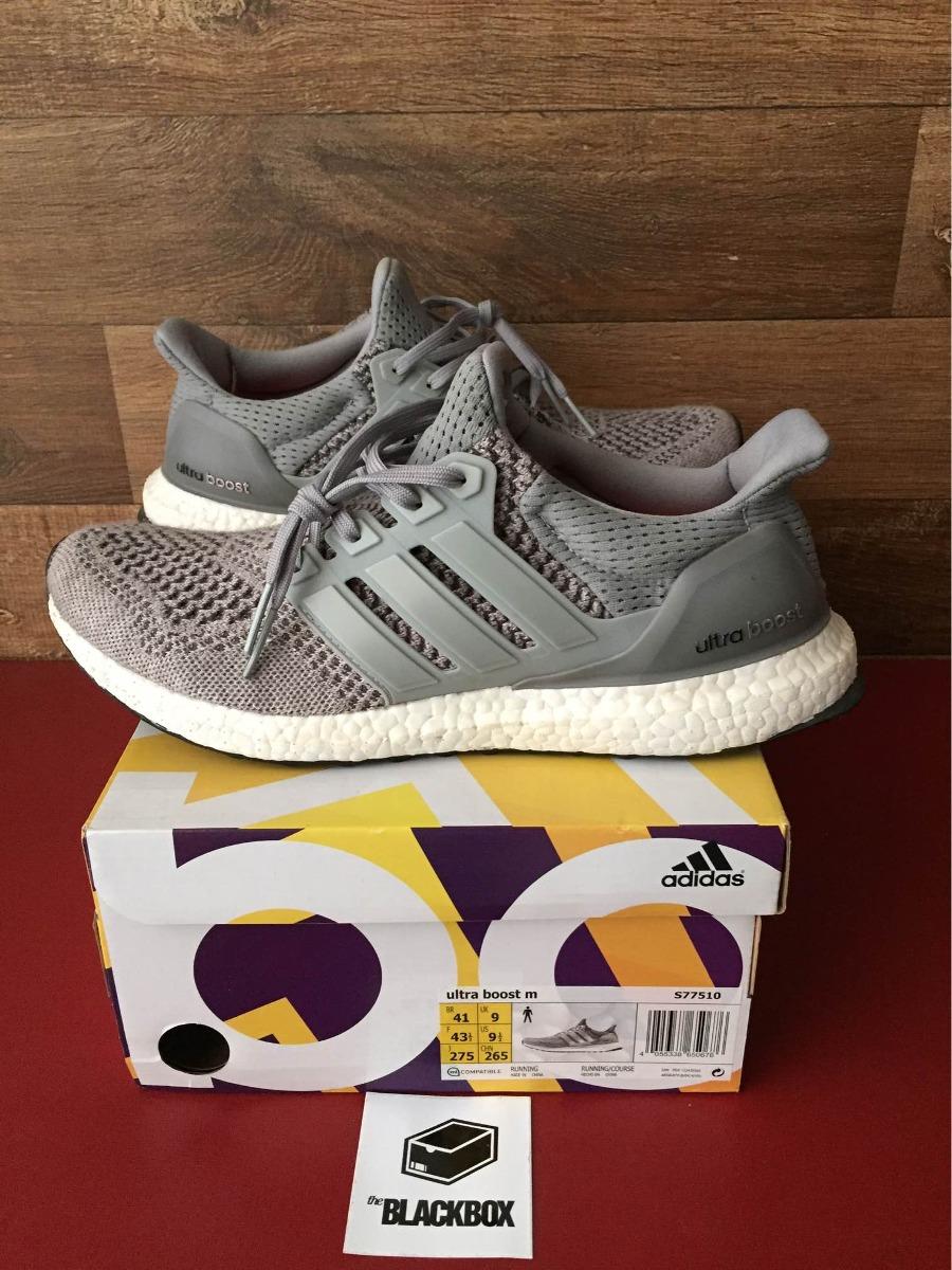 fda02355fdeb8 tênis adidas ultra boost 1.0 wool grey - tam 41. Carregando zoom.