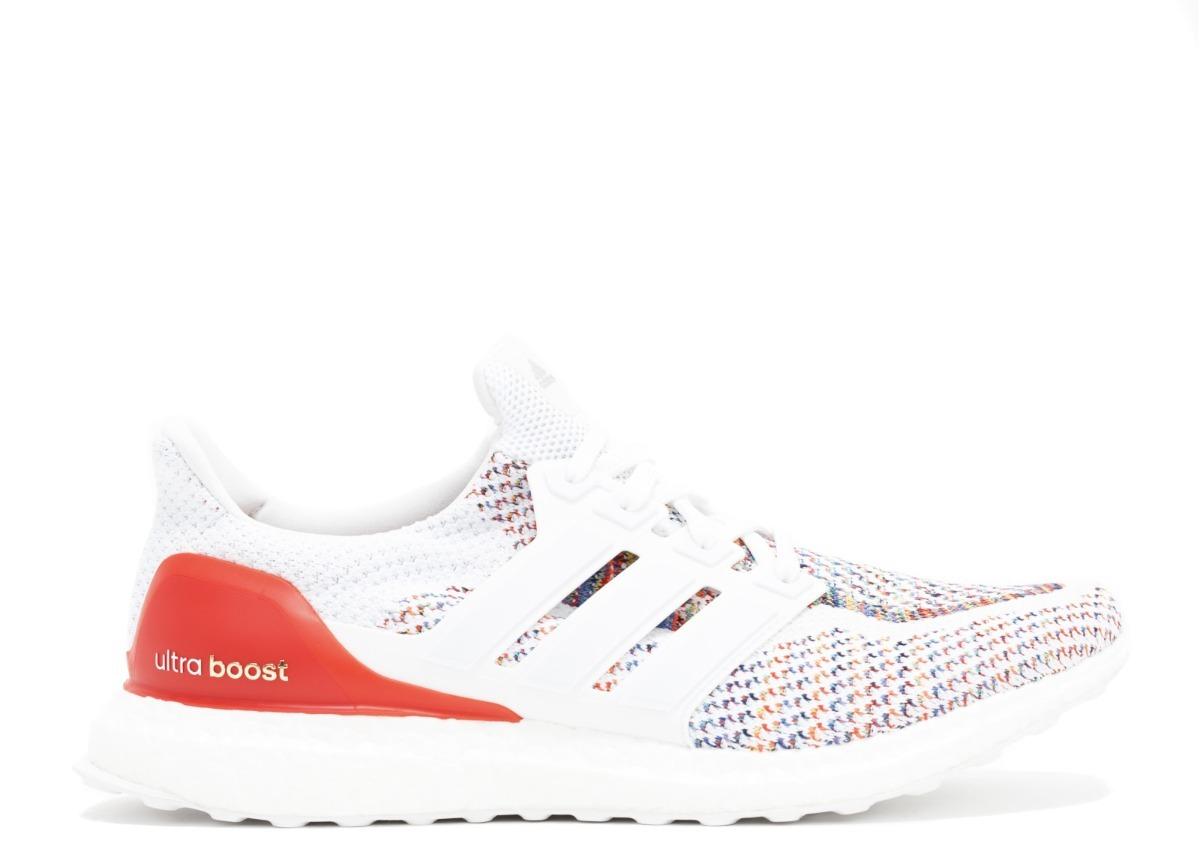 tênis adidas ultra boost branco e vermelho. Carregando zoom. 6b1ca4c9b44bc