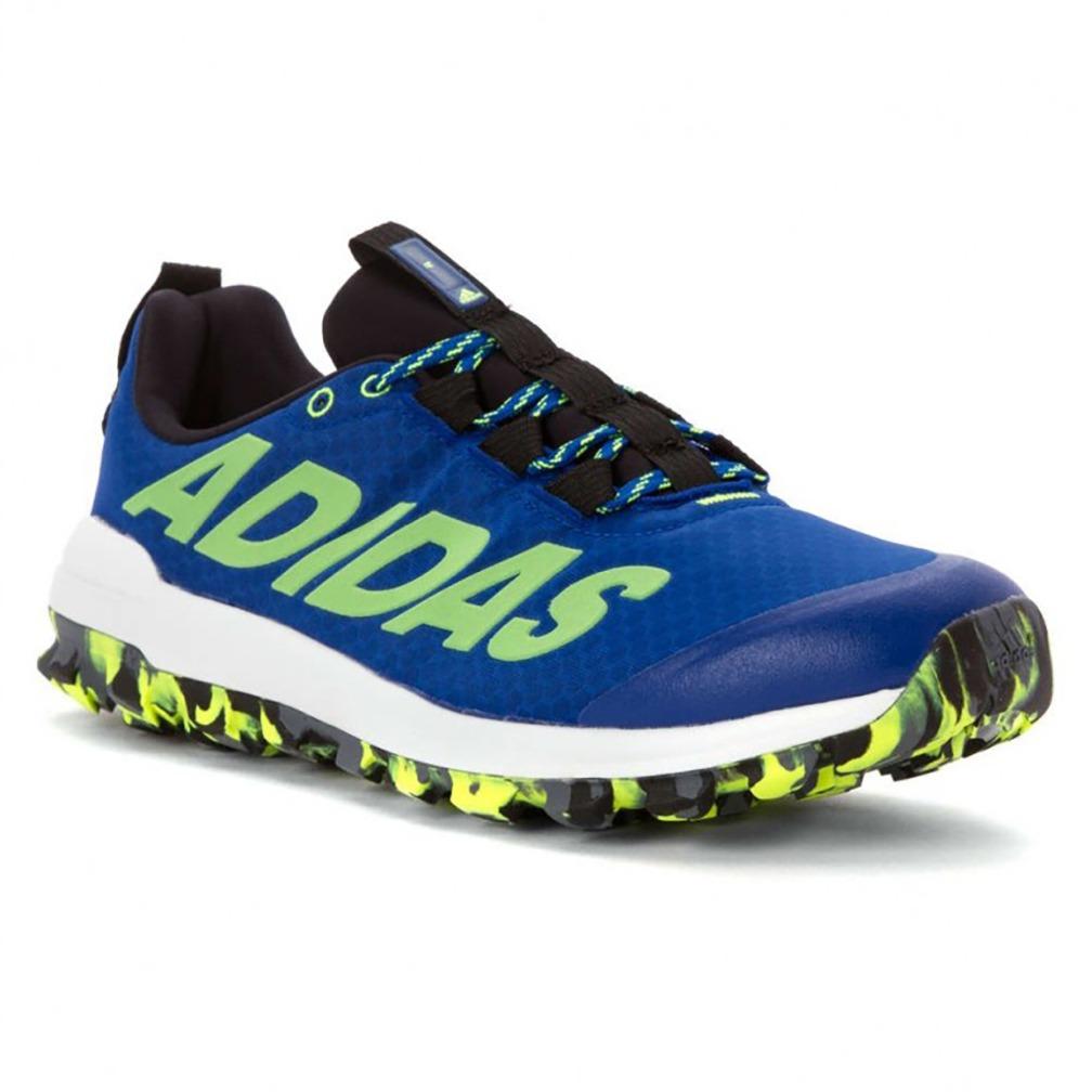 1f38fe864c7 tênis adidas vigor 6 tr masculino - azul e verde. Carregando zoom.