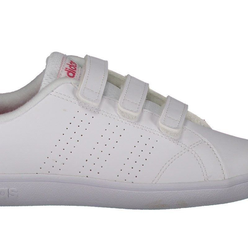 07a8a4628a6cb tênis adidas vs advantage clean c infantil feminino branco. Carregando zoom.