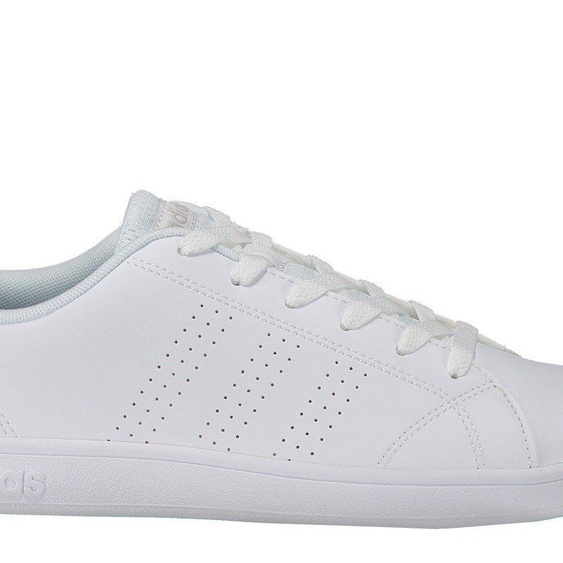 5fb88d40a tênis adidas vs advantage clean feminino branco e cinza. Carregando zoom.