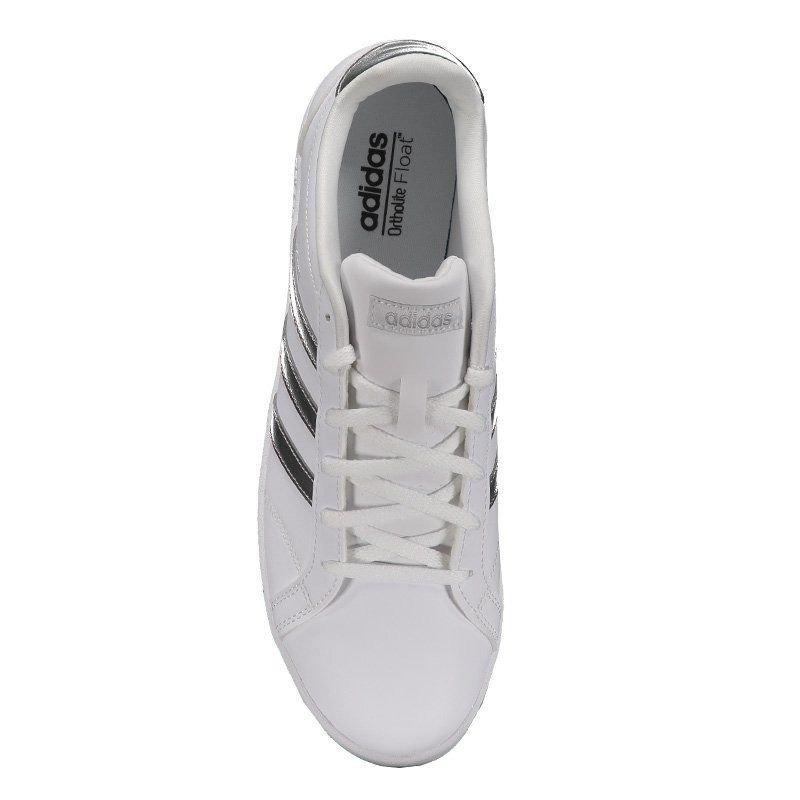 97512bdfa2c33 Tênis adidas Vs Coneo Qt Feminino Branco - R$ 199,90 em Mercado Livre