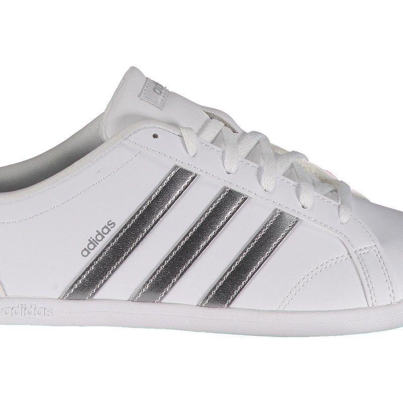 caec79d22 Tênis adidas Vs Coneo Qt Feminino Branco - R$ 199,90 em Mercado Livre