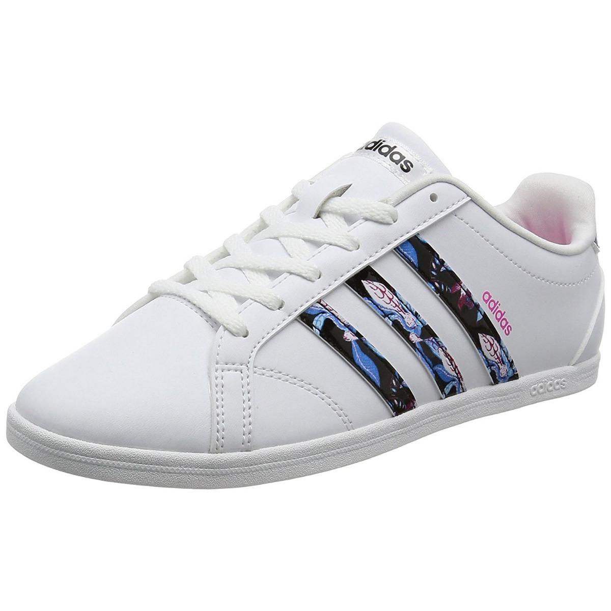 6a2cee495 tênis adidas vs coneo qt feminino casual original branco. Carregando zoom.