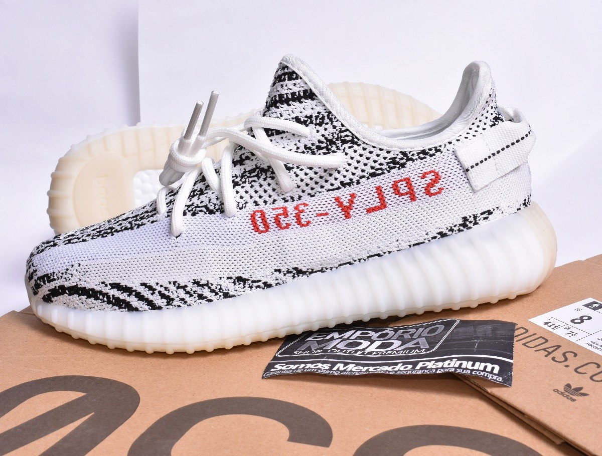 1621468d5 tênis adidas yeezy boost 350 v2 original - zebra. Carregando zoom.