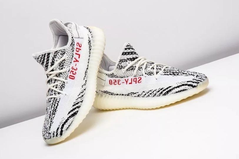b869f5e7249 tênis adidas yeezy boost 350 v2 zebra importado!!! Carregando zoom.