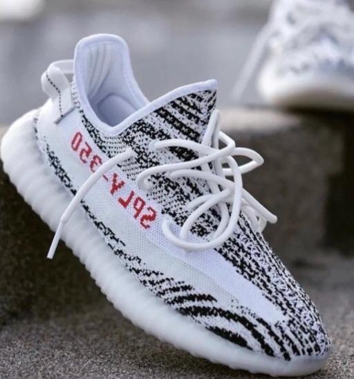 07ebd78d8b2 Tênis adidas Yeezy Boost 350 V2 Zebra Importado!!! - R  600