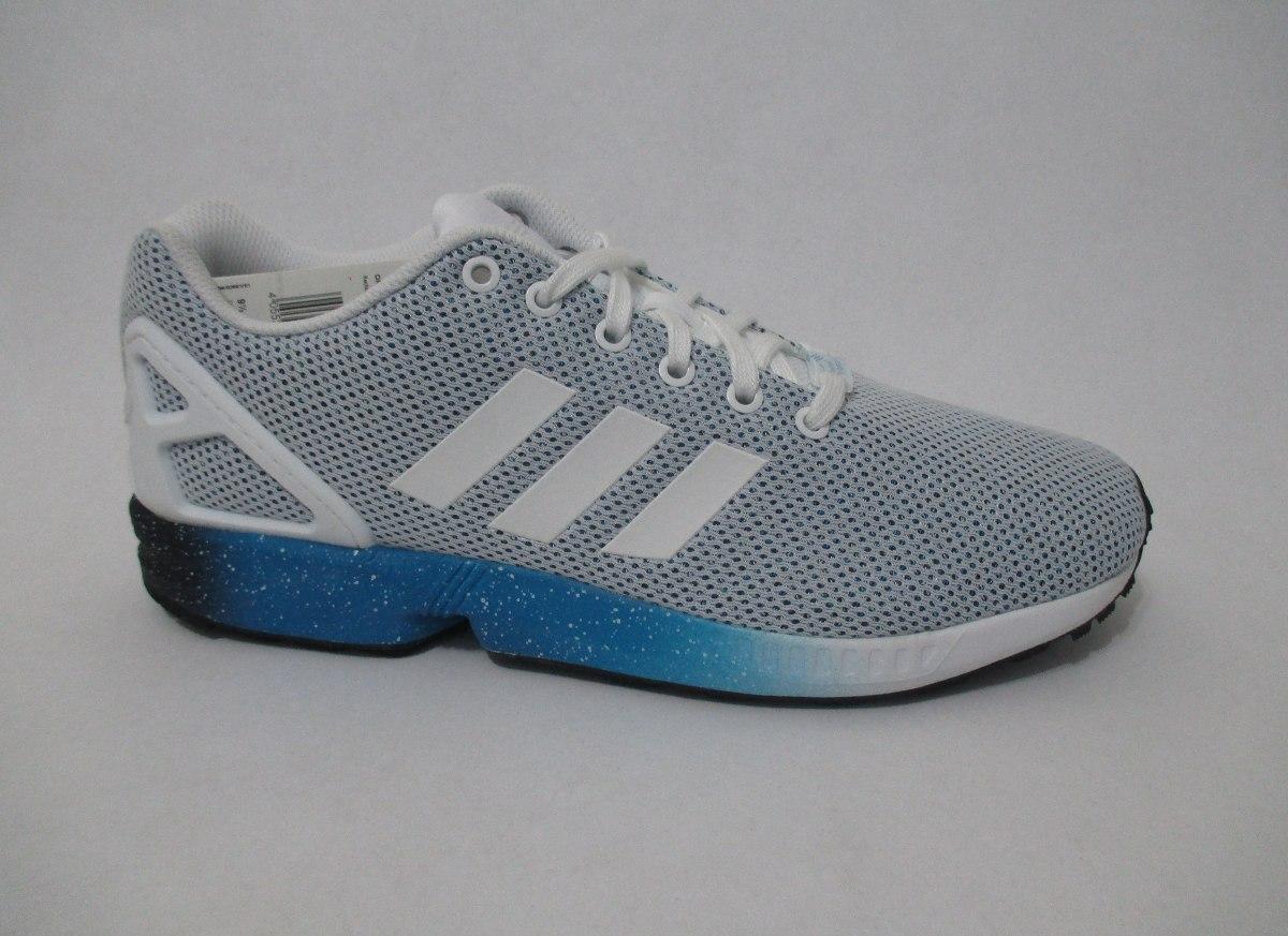 36139d1345 tênis adidas zx flux branco azul sneaker original conceito. Carregando zoom.