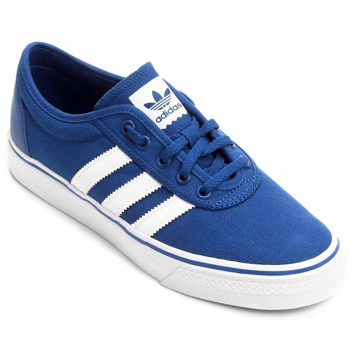 3dd5e4f5ee8e4 Tênis Adiease adidas Azul Nota Fiscal Confortável Original - R  362 ...