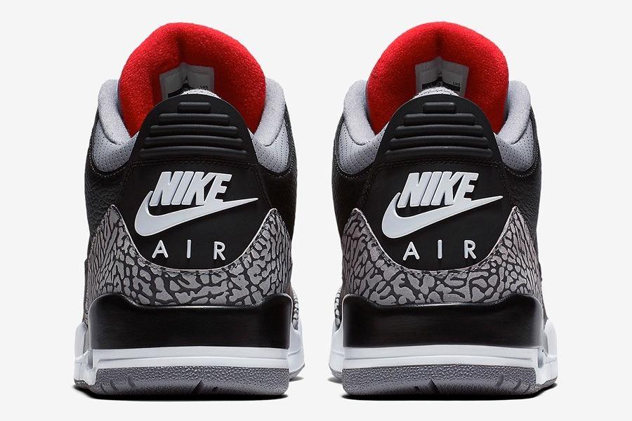 no sale tax best prices release date: Tênis Air Jordan 3 Retro Og Black Cement - Nike Jordan Bred