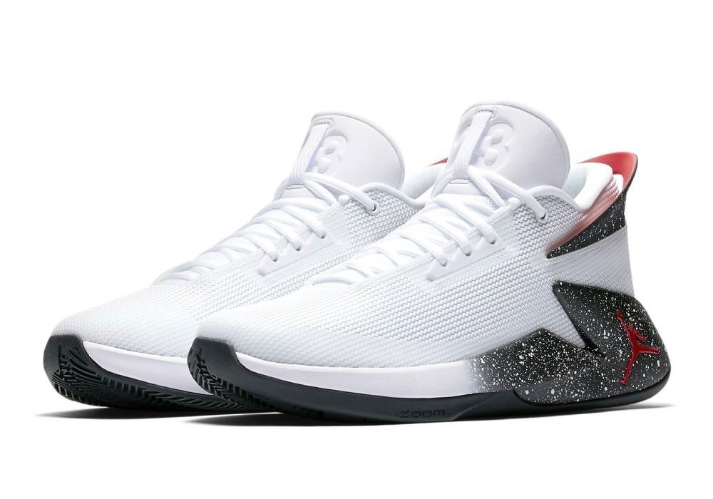 Nuevos objetos bien baratas sobornar auténtico Tênis Air Jordan Fly Lockdown White Masculino