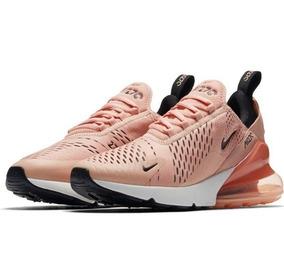 ea829fcac2 Tenis Nike Air Max Feminino Branco E Rosa Calcanhar Preto - Tênis no ...