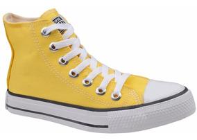7c3e12890e All Star Cano Alto Barato Converse Tamanho 46 - Tênis Urbano Amarelo ...