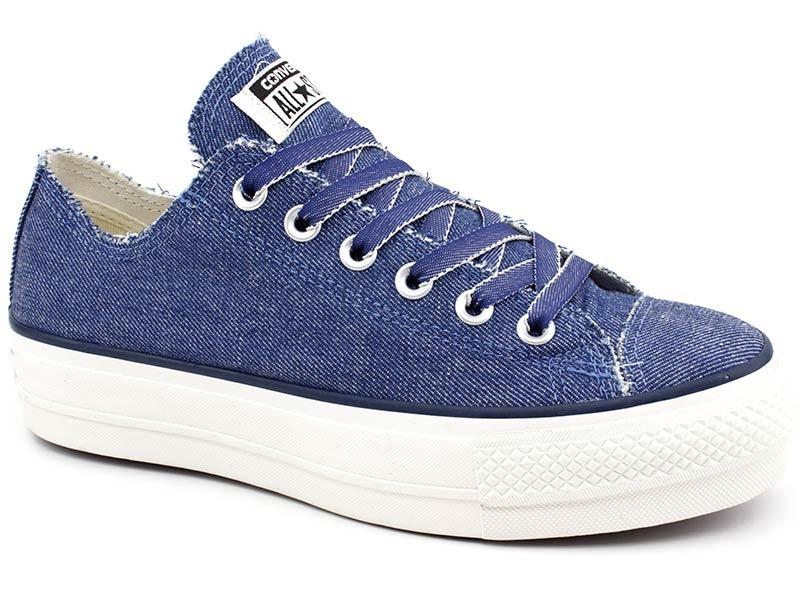124ca711674 tênis all star converse ct0961 plataforma jeans loja pixolé. Carregando zoom .