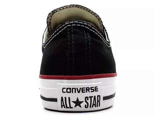 tênis all star converse preto cano baixo original
