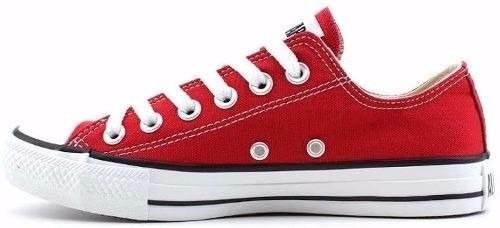 65ff0699f46 Tênis All Star Converse Vermelho Ct As Core Original Rock - R  145 ...