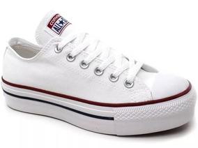20e4fa8c17 Converse All Star Estampa Fogo Importado - Tênis Tênis Branco com o ...