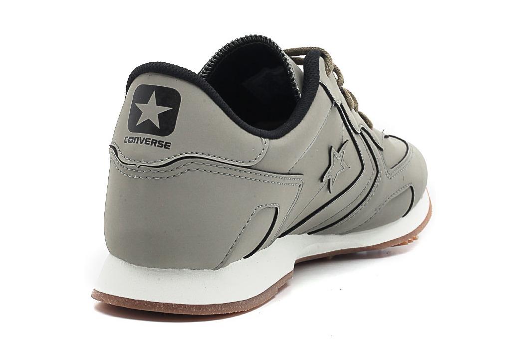1ec3a52a90 tênis all star thunderbolt couro cinza edição limitada. Carregando zoom.