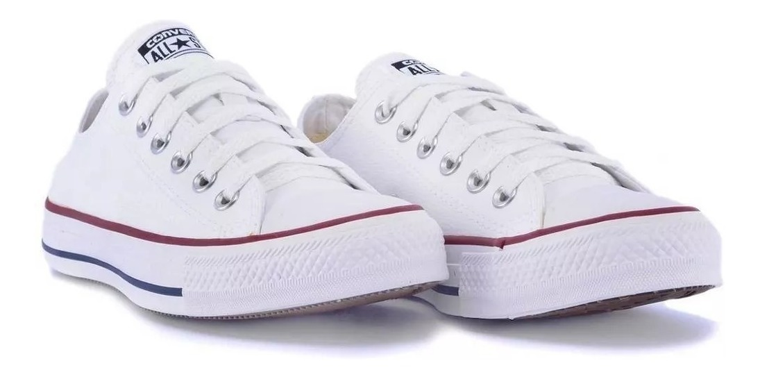 finest selection 2998f 4c79f Tênis Allstar Feminino Branco I Schuh Haus 2983 Original