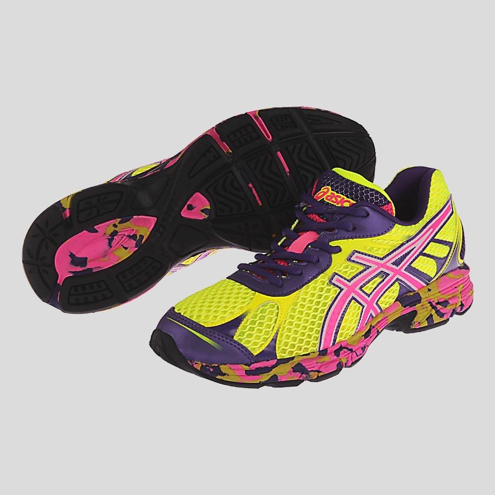 tenis asics accelerato feminino rosa f45c72a3e306e