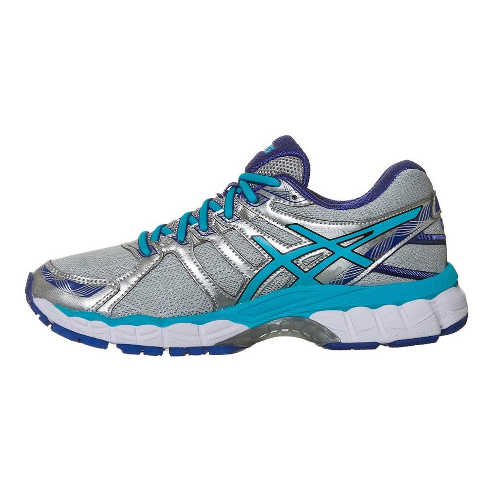 495a3500d32 Carregando zoom... asics feminino tênis. Carregando zoom... tênis asics gel  evate 3 feminino - cinza claro e azul