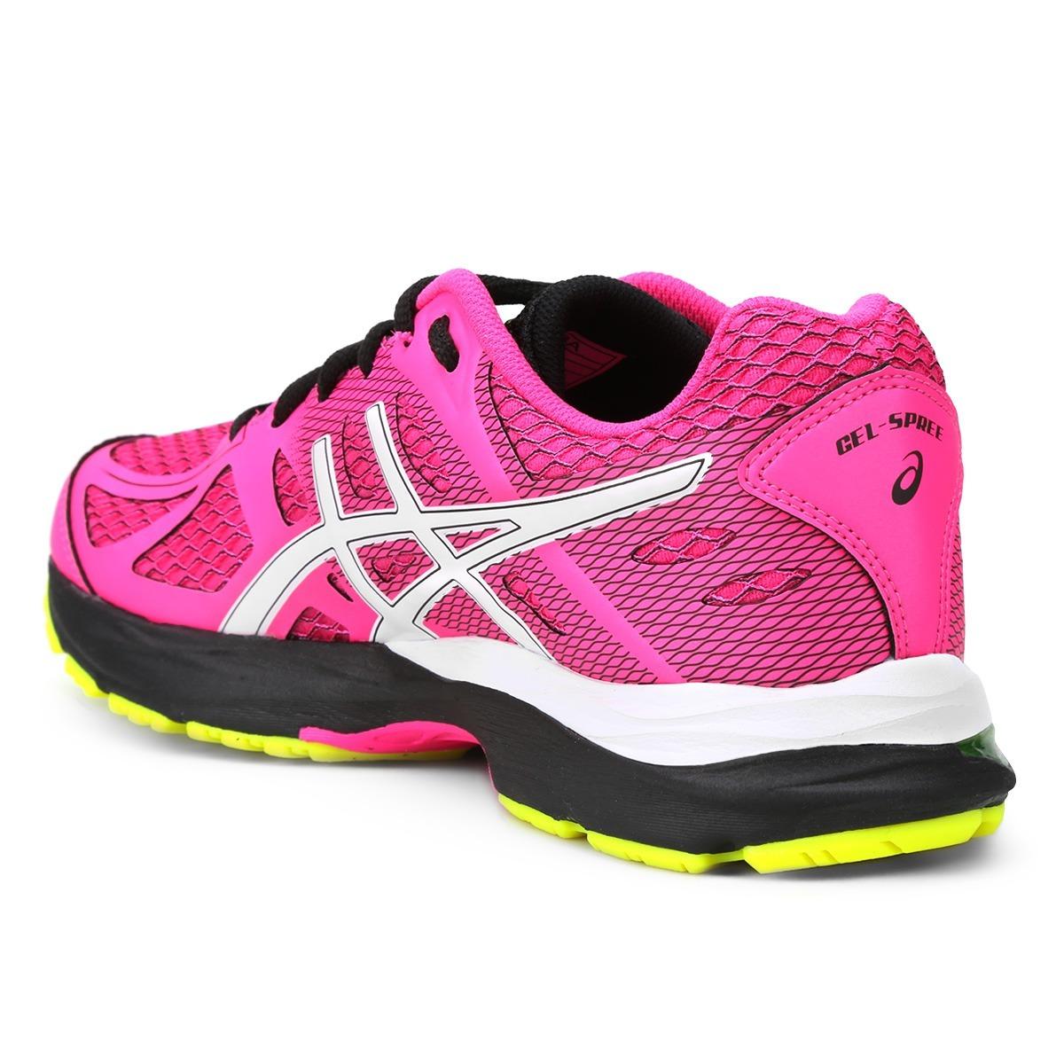 tênis asics gel spree feminino - pink e branco - original. Carregando  zoom... tênis asics feminino. Carregando zoom. 52ad74a9f6154