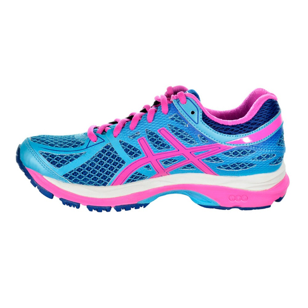 2d39d53bf5 tênis asics gel cumulus 17 feminino - azul e rosa. Carregando zoom... tênis  asics feminino. Carregando zoom.