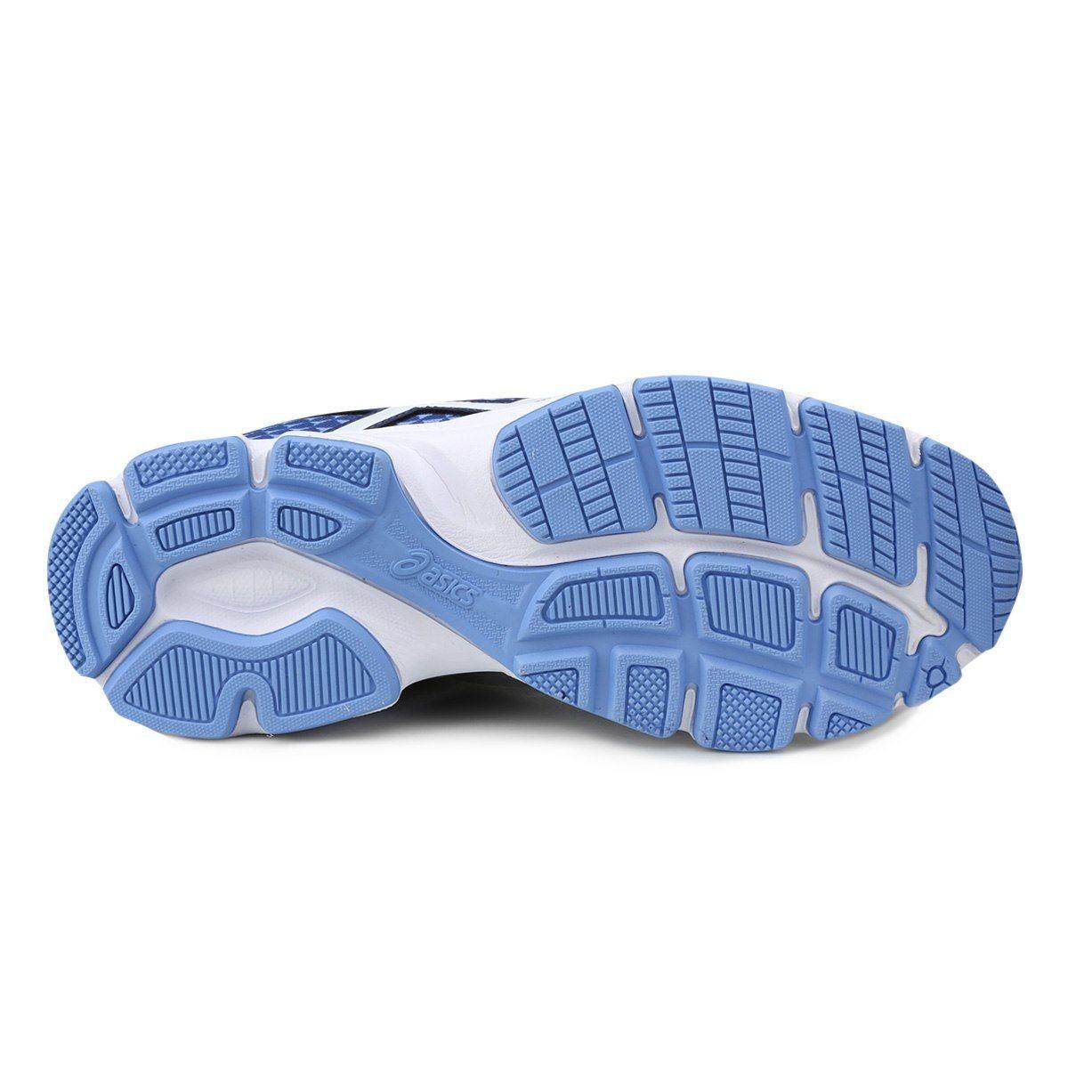 71774758af tênis asics patriot 8 feminino azul e branco. Carregando zoom... tênis  asics feminino. Carregando zoom.