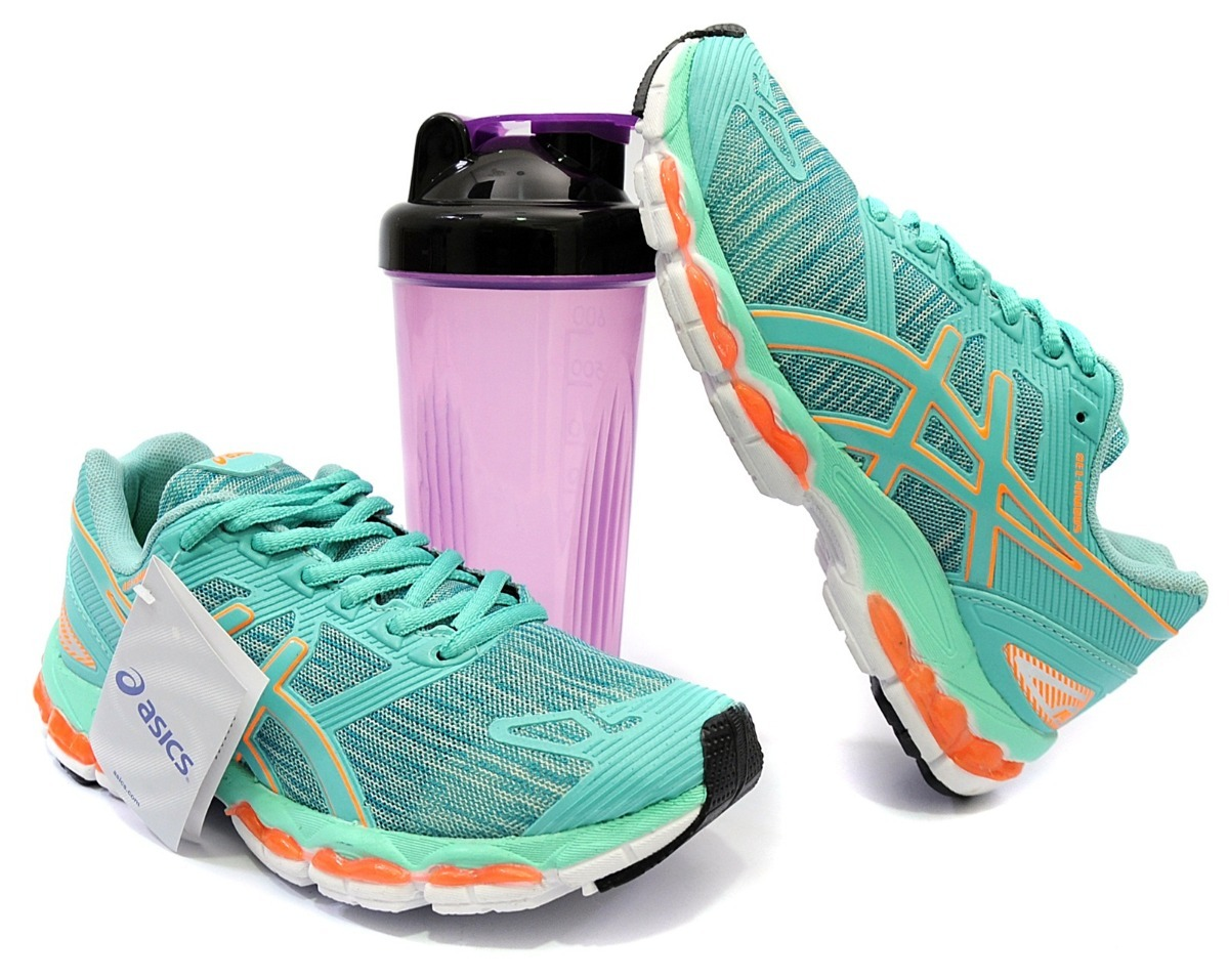 12e56c0bb6c15 tênis asics feminino gel esporte academia corrida caminhada. Carregando zoom .