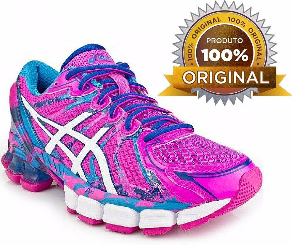 tênis asics feminino gel sendai original corrida caminhada. Carregando zoom. 7bb697caef96a