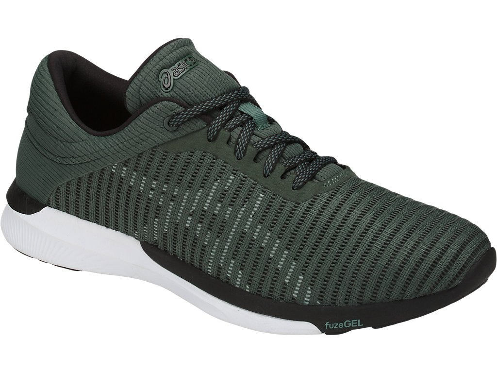 tênis asics fuzex rush adapt masculino - verde - original. Carregando zoom. 82482ff222f4f