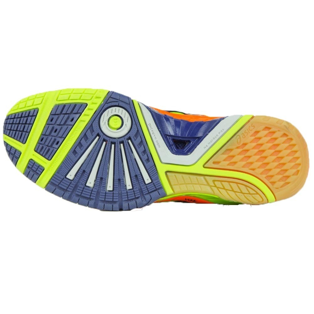 tênis asics gel blast 5 e329n-0550 handebol voleibol indoor. Carregando  zoom. 8acf73df9681b